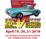 20th Annual Hot Springs Corvette Weekend