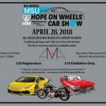 8th Annual MSU Hope On Wheels Car Show