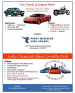 Indy Classical Glass Corvette Club Annual Car Show